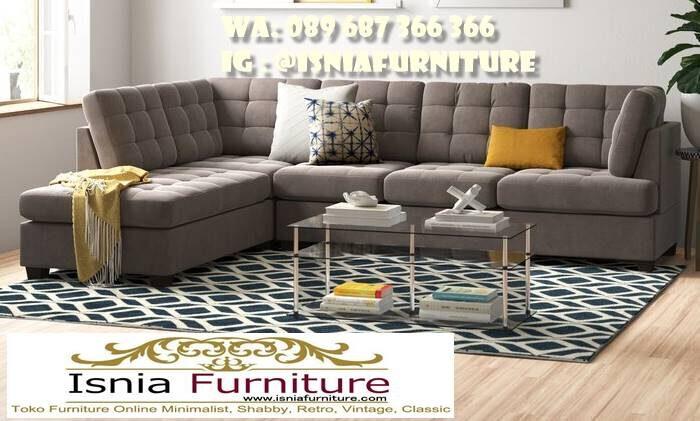 sofa-sudut-mewah-minimalis-terbaru-berkualitas-700x421 Sofa L Mewah Luxury Klasik Harga Terjangkau